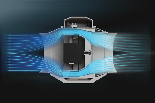 Для некоторых типоразмеров доступна версия двигателя с более мощными характеристиками (ВЕНТС ТТ…С). Двигатель.