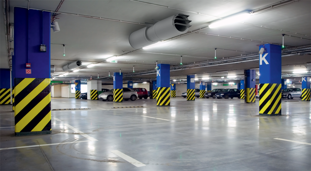 Smoke extraction ventilation for parking premises | official