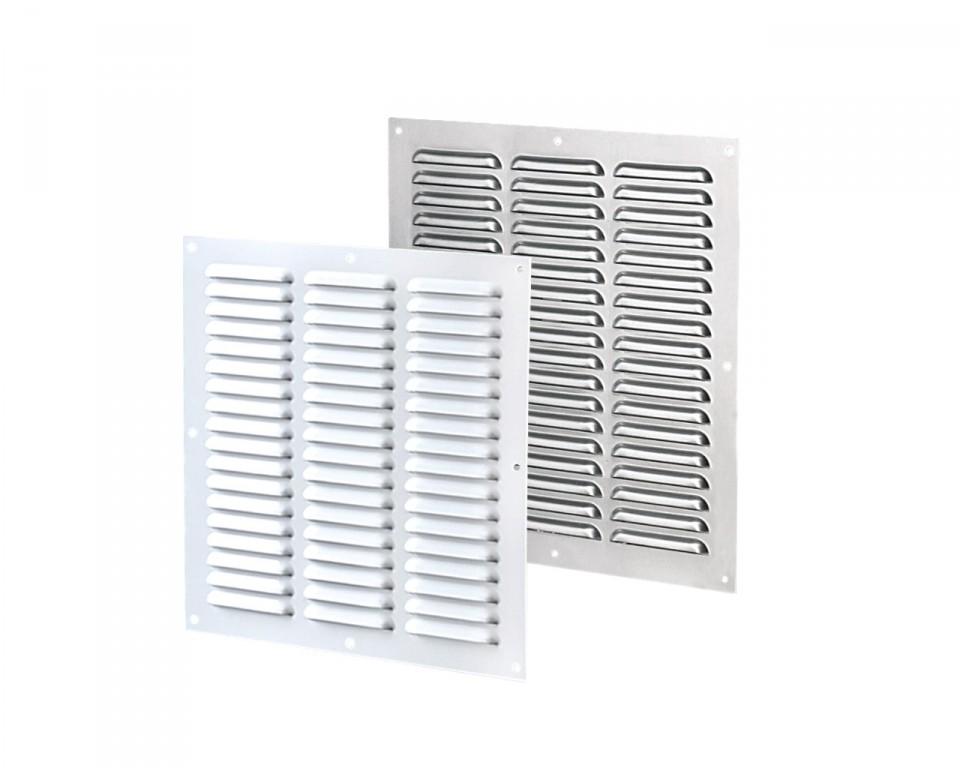 Приточно-вытяжные решетки металлические многорядные серии МВMП