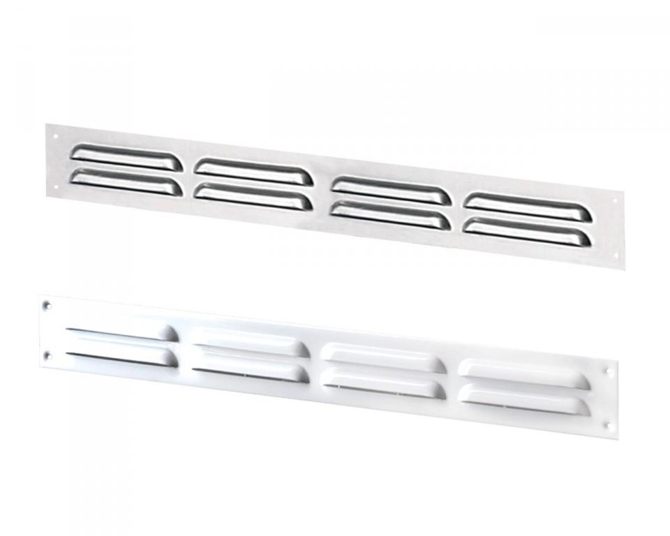 Приточно-вытяжные решетки металлические щелевые серии МВMП
