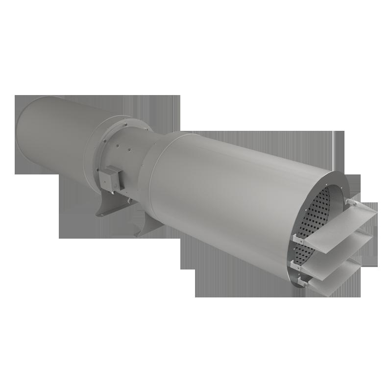 Осевые струйные вентиляторы серии JAF
