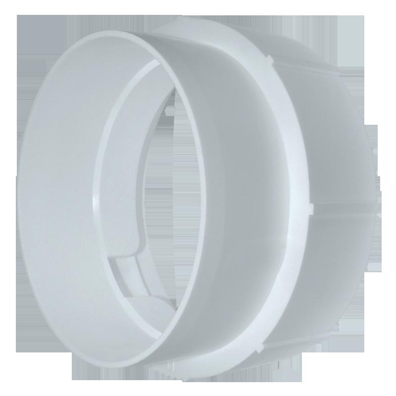 Cоединитель для круглых гибких каналов 1215