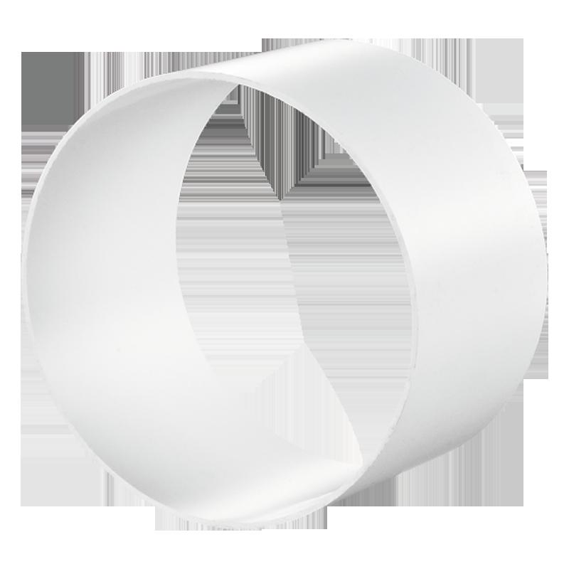 Соединитель круглых гибких каналов