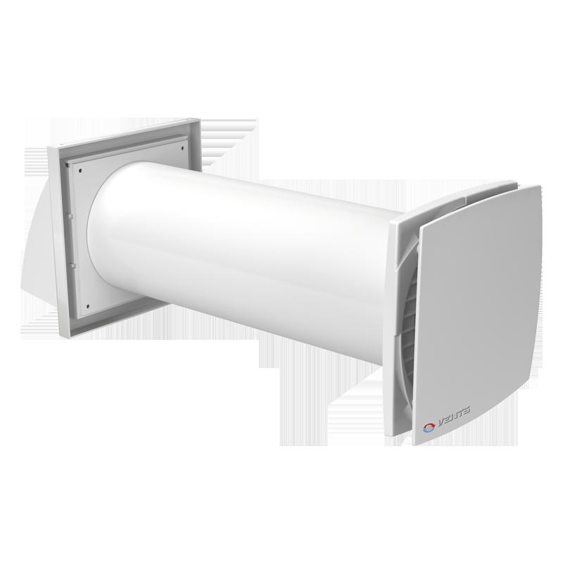 Реверсивный проветриватель с рекуперацией тепла и энергии СОЛО