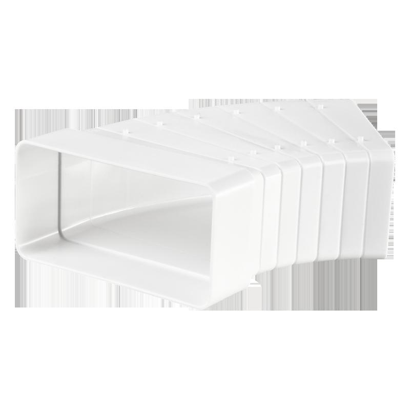 Универсальный угловой соединитель для плоских каналов