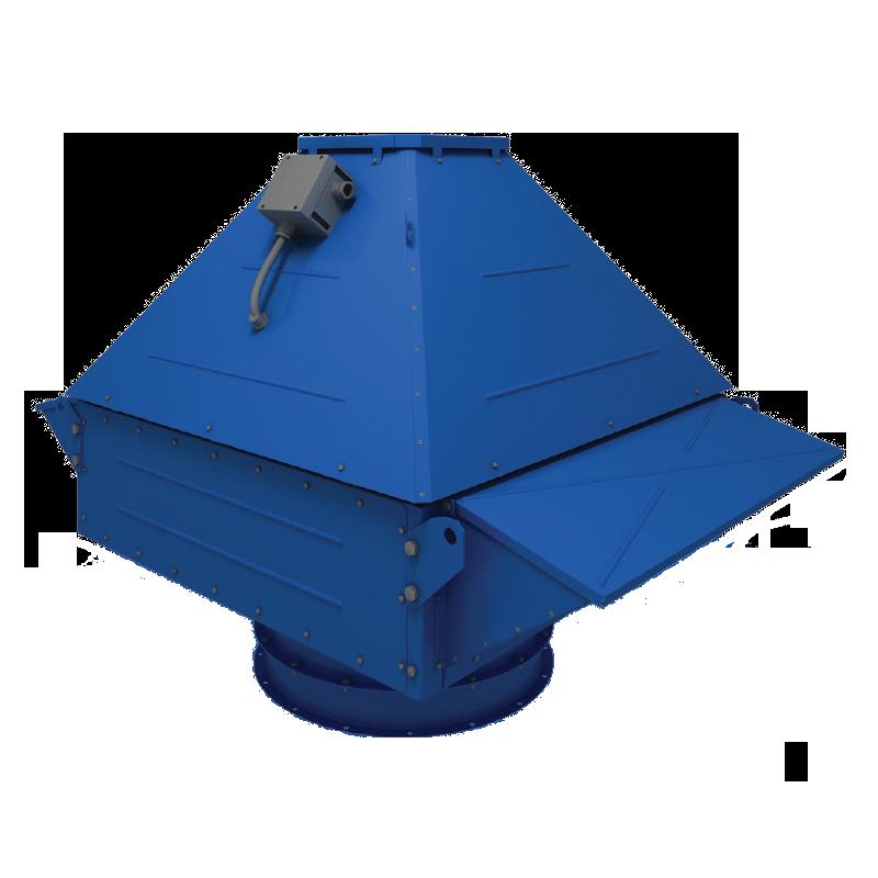 Крышный центробежный вентилятор дымоудаления ВЕНТС ВКДВ