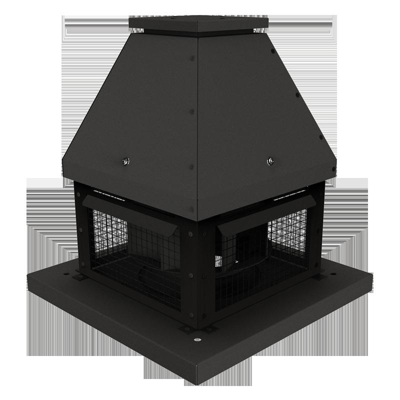 Крышный вытяжной каминный вентилятор для усиления тяги вытяжки дымовых газов ВЕНТС ВКТ