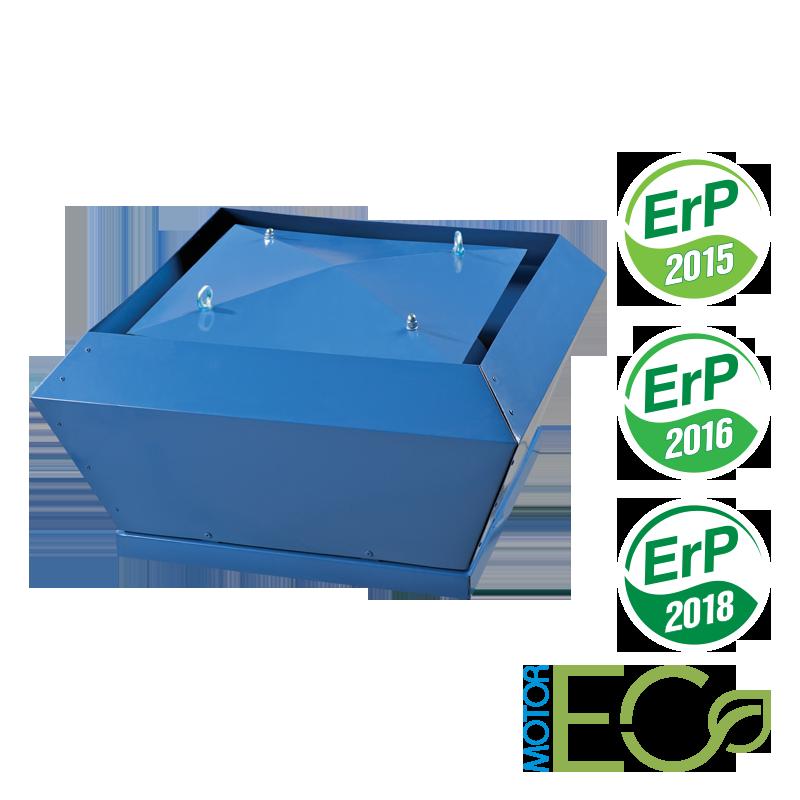 Центробежный крышный вентилятор с ЕС мотором ВЕНТС ВКВ ЕС